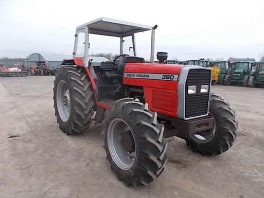 1995 Massey ferguson 375 4X4 81HP TSHS 37MILLION ON THE ROAD image 2