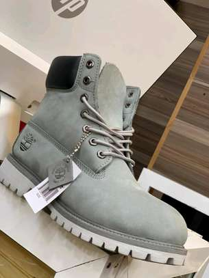 Timberland leather boot shoes. image 3