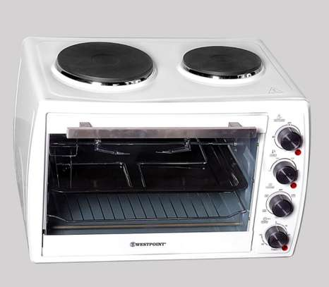 Westpoint 45L Electric Oven with Top Hotplates.WOY-4515.4 image 2