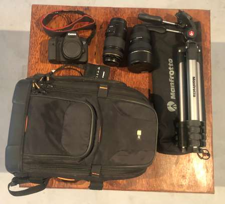 Canon EOS 6D DSLR & Lenses & Tripod & Backpack