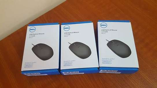 WIRED AND USB OPTICAL MOUSE image 1