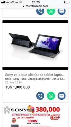 SONY TABLET LAPTOP image 3