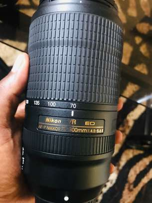 Nikon 70-300mm f/4.5-5.6E ED IF AF-S VR Nikkor Zoom Lens for