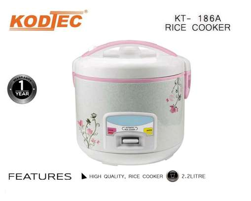 2.2 litre Rice cooker two yrs warranty image 1