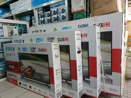 Star x TV 55inch smart and android image 1