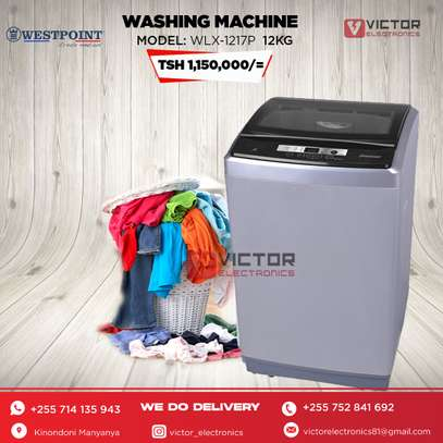 WESTPOINT WASHING MACHINE 12Kg. WLX-1217 image 1