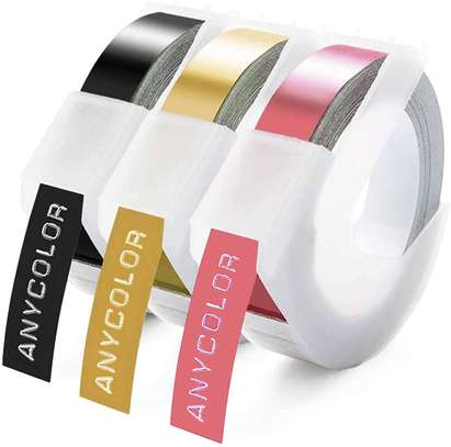 Tape Replacement for Dymo 3D Embossing Label Tape image 1