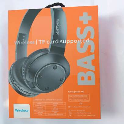 Super Bass Bluetooth 5.0 wireless headphone with SD Card slot and FM Radio free delivery in dsm image 2