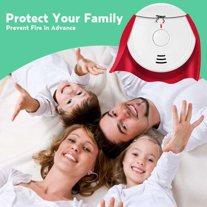 PICTEK Smoke Alarm, Smoke Detector Battery Operated with 10 years Life Time image 4