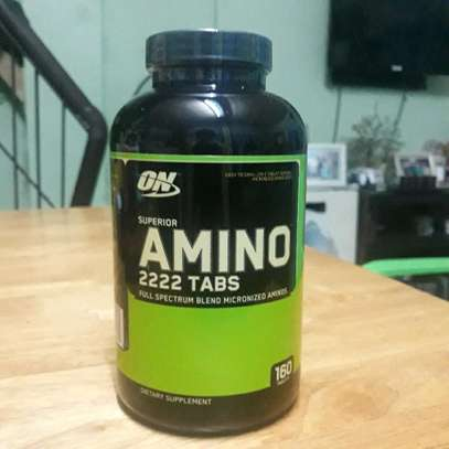 Gym Supplements Amino Tabs