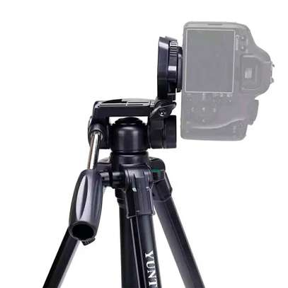 YUNTENG VCT-690 Professional Tripod with Carrying Bag for SLR Camera image 4