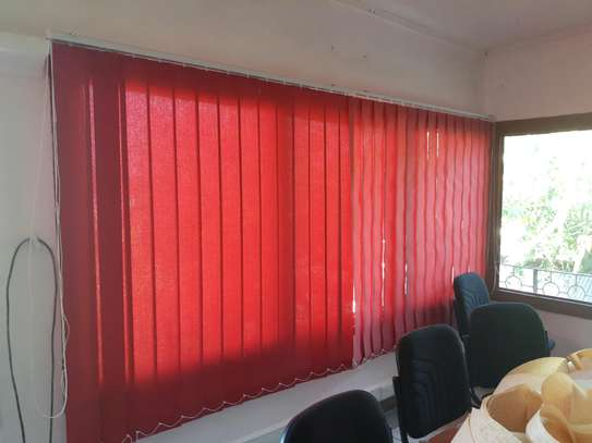 Vertical Blinds- Red image 2