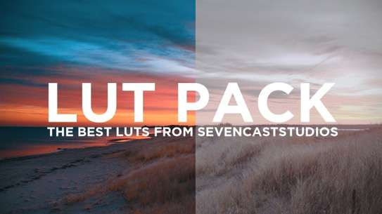 540+ Cinematic LUTS Pack