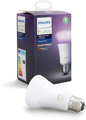 Philips Hue White and Colour Ambience Single E27/B22 Bulb - 16 Million Colours image 1