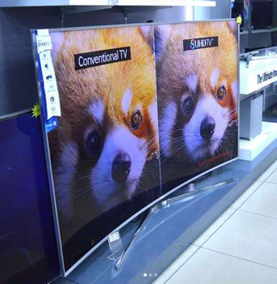 Samsung 55inch Curved 4K Series 7 image 1