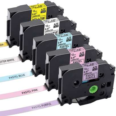 Label printer tapes - Brother and Dymo image 1