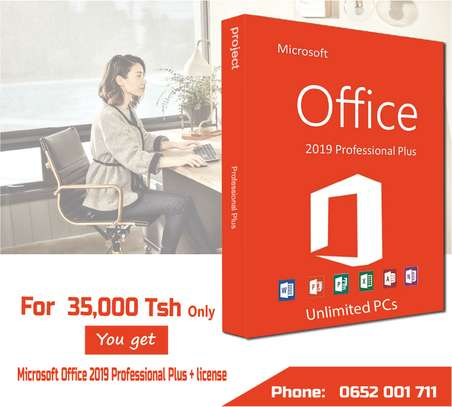 Microsoft office 2019 Professional Plus + license