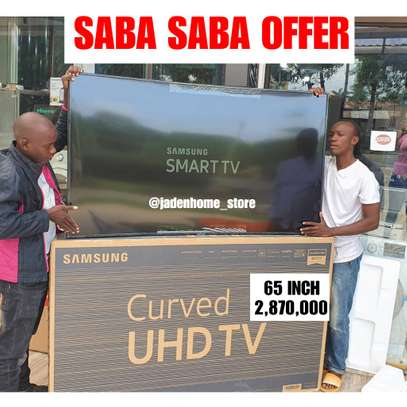 SAMSUNG SMART UHD CURVED 4K TV 65 INCH
