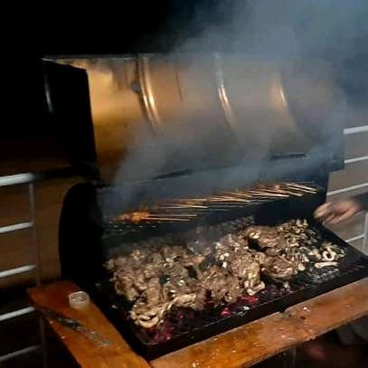 Barrel Charcoal Barbecue Smoker Grill...190,000/= image 2
