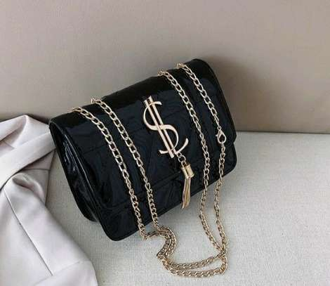 2021New trendy Fashion Casual All-match chain shoulder bag image 1