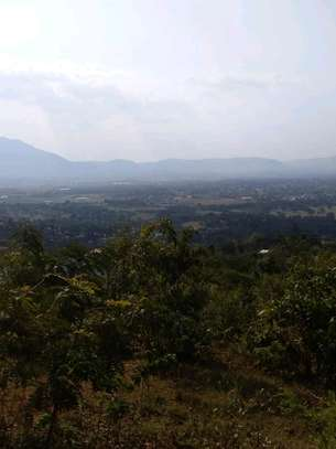 Land for sale at Morogoro on top of Mountain 360° view of water falls/town/Mindu dam/mountains image 6
