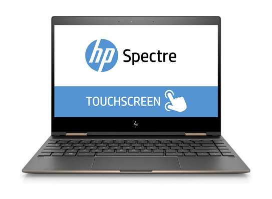HP Spectre 13 x360 Gold and Black i7-8thGeneration 4K image 2