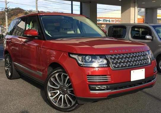 2014 Land Rover RANGE ROVER AUTOBIOGRAPHY USD 58,0000 CNF DAR PORT