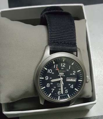 Seiko 5 sports Military Watch