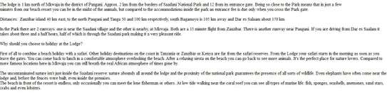 Lodge For Sale in Tanga Region image 2