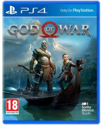 God of War PS4 CDS
