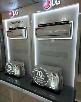LG DUAL INVERTER AIR CONDITION image 1