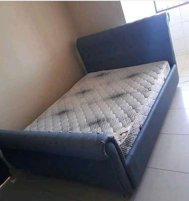 5*6inch comfortable  Bed and mattress image 1