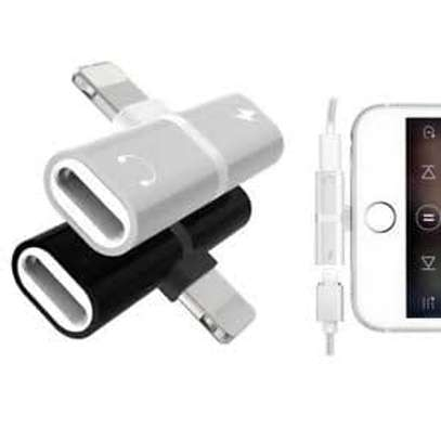 i phone adapter combo for charging&music