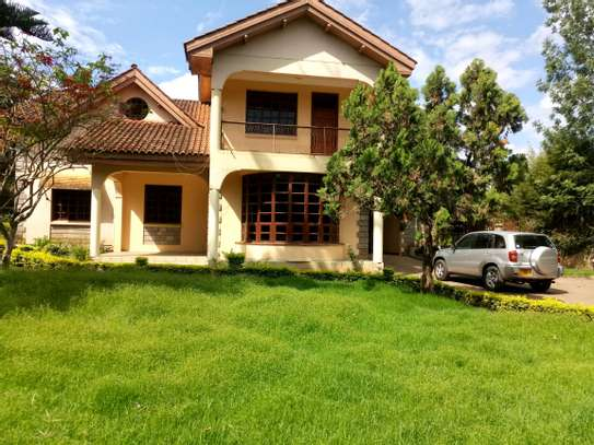 NICE 5BEDROOMS HOUSE IN NJIRO-PPF. image 1