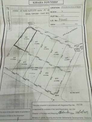 The cheapest industrial plot for sale in Kibaha industrial area image 1