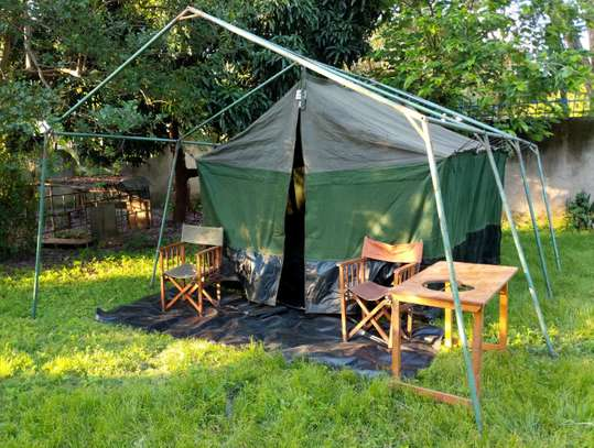 Safari Camping and Dining Tents - LIST BELOW WITH PRICES image 1