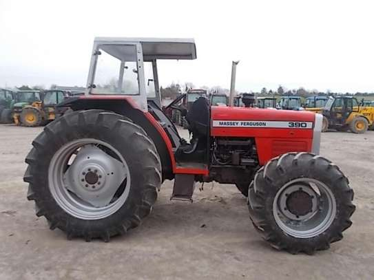 1995 Massey ferguson 375 4X4 81HP TSHS 37MILLION ON THE ROAD image 3