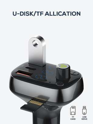 Ldnio car bluetooth and fast charger image 2