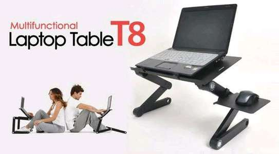 Laptop Foldable Cooling Stand table t8 image 1