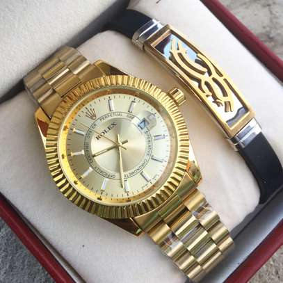 Simple Golden Watch Stainless Steel