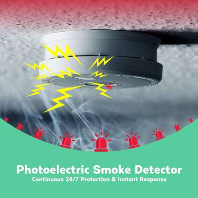 PICTEK Smoke Alarm, Smoke Detector Battery Operated with 10 years Life Time image 7
