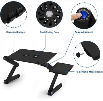 laptop stand & cooling fan image 2