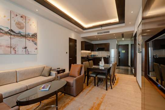 Luxury One Bedroom Apartment at Johari Rotana Hotel image 3