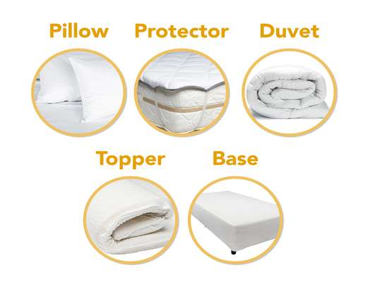 Pillows, Duvets & Mattress Protectors