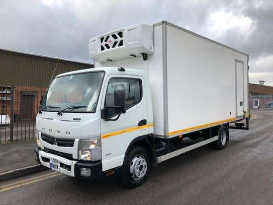 2014 Mitsubishi FUSO CANTER FRIDGE USD 9260 FOB