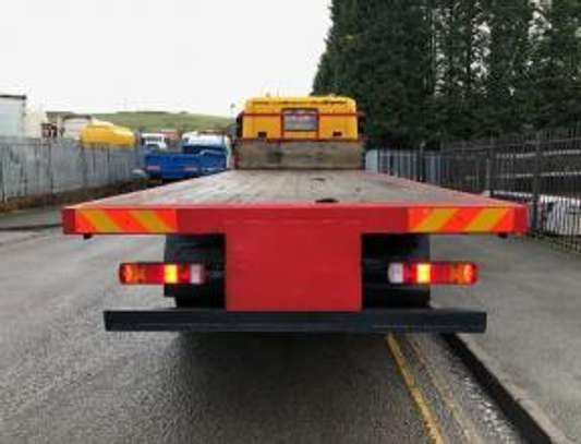 1998 Scania P94 260 6X4 FLATBED THS 91MILLION ON THE ROAD image 3
