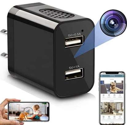 Spy Camera Wireless Hidden Wi-Fi Charger Camera with Remote View image 1