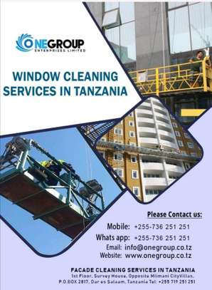 Window/Glass cleaning services image 3