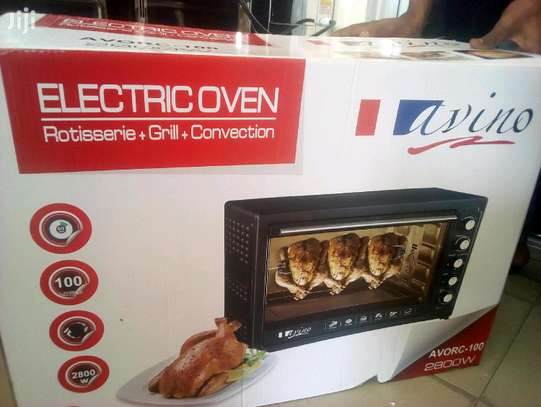100L Oven Toaster Griller With Rotisseries & Convection image 1