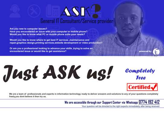 ASK-General IT Consultant/Service provider